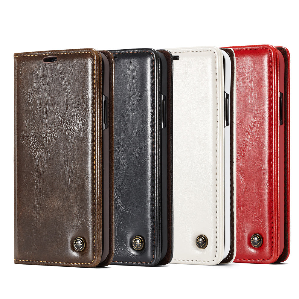 Classic business style flip leather wallet with card slot iPhone X Case 5.8""