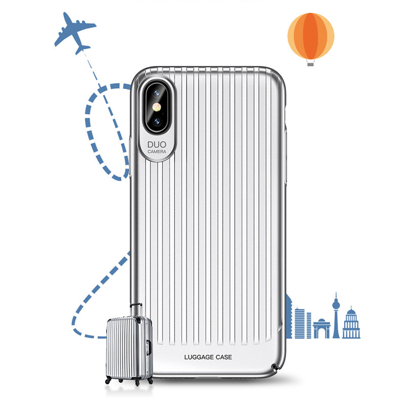 Fashion Luggage Design iPhone X case