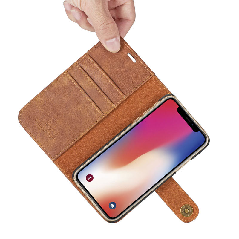 Genuine leather separable flip with magnet clasp iPhone 6s Case 4.7 inch