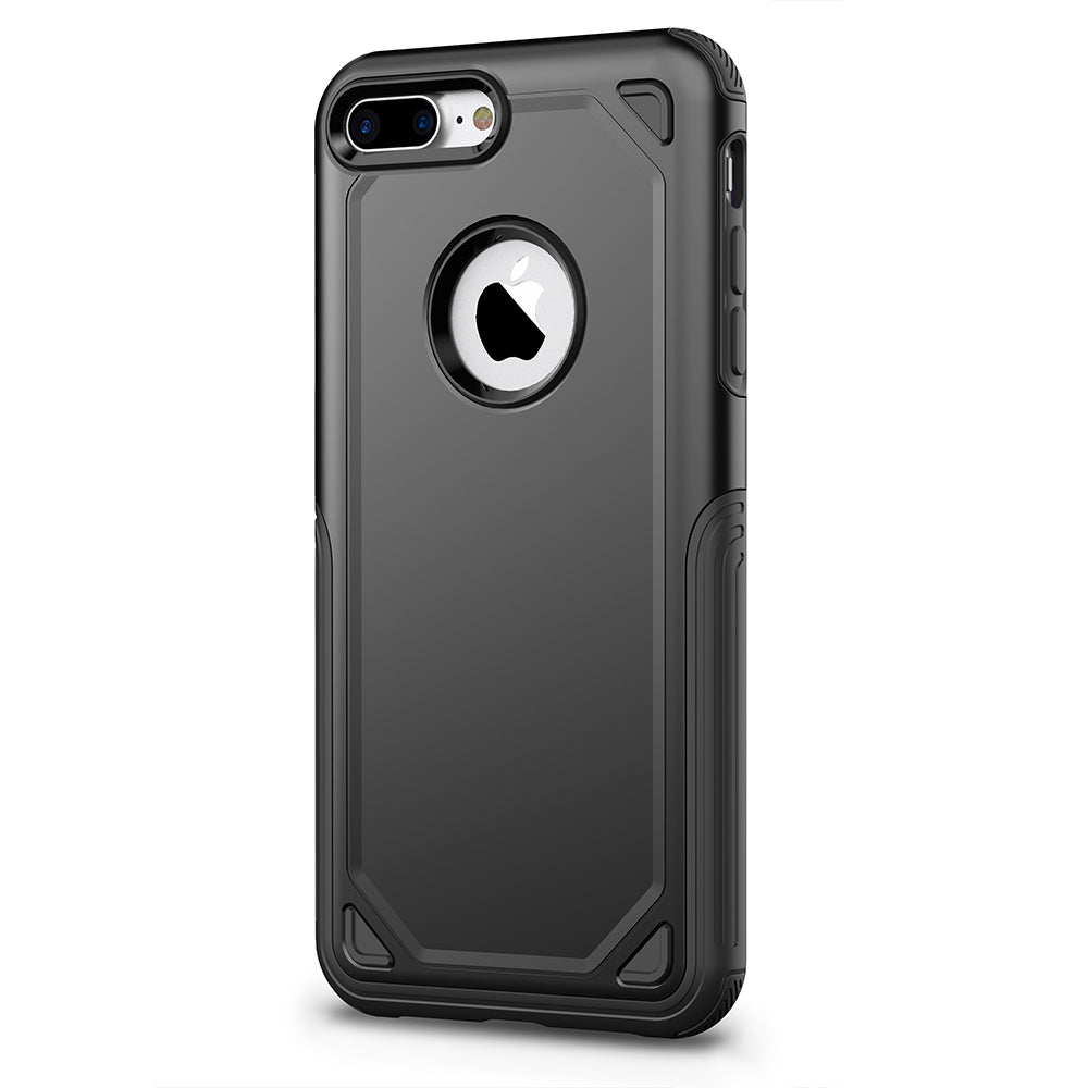 Colourful heavy duty two parts joint iPhone 8+ Plus case 5.5 inch