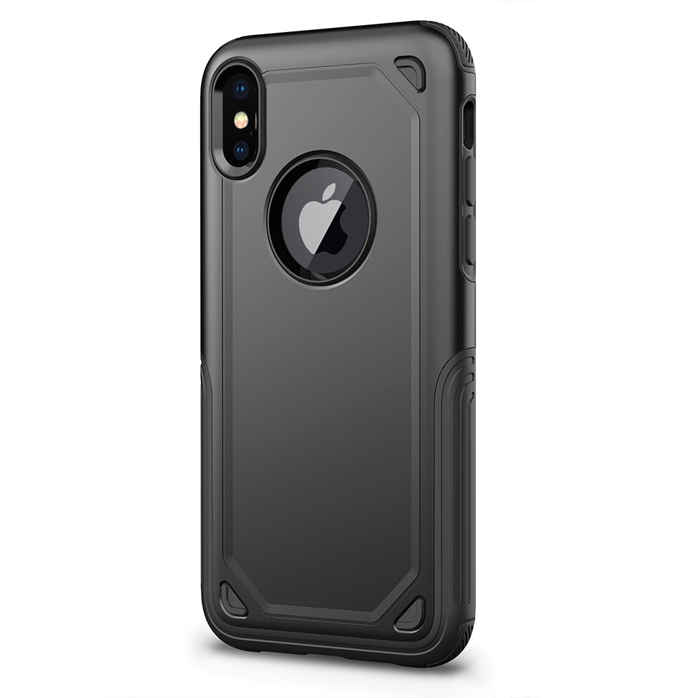 Colourful heavy duty two parts joint iPhone XS Case 5.8""