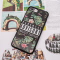 Instagram popular style summer leaf iPhone 6+ Plus Case 5.5 inch.