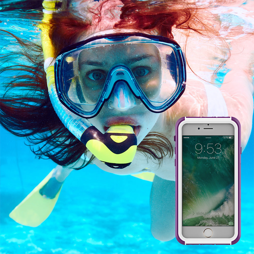 Waterproof heavy duty colourful iPhone X 10 case