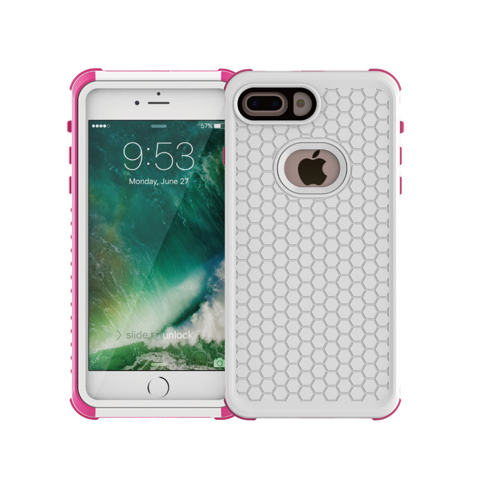 Waterproof Heavy Duty colourful iPhone 8 Plus Case 5.5 inch