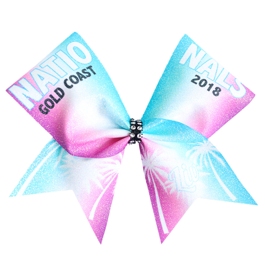 2018 Nationals Cheer Bow