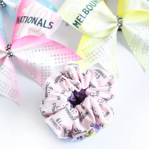 2019 Nationals Scrunchies