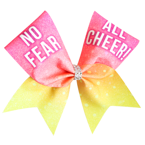 FIERCE Leopard Cheer Bow