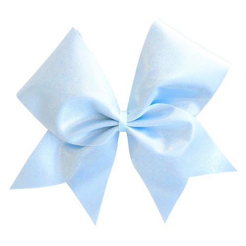 Pastel Blue Cheer Bow