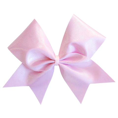 Rose Gold Glitter 4inch Tailless Bow