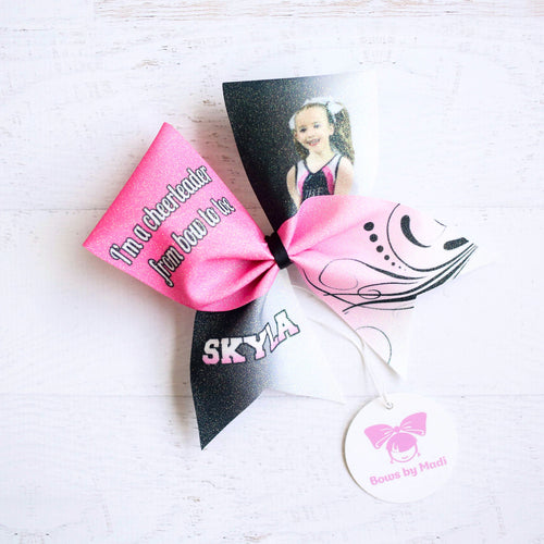 Personalised Photo Bow
