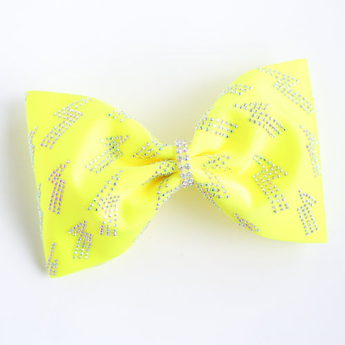 Lightning Strikes Yellow 4inch Tailless Bow