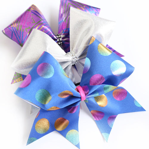 BBM Make Your Own Bow Kit - Multi Coloured Dots