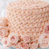 Solid Pink Cake