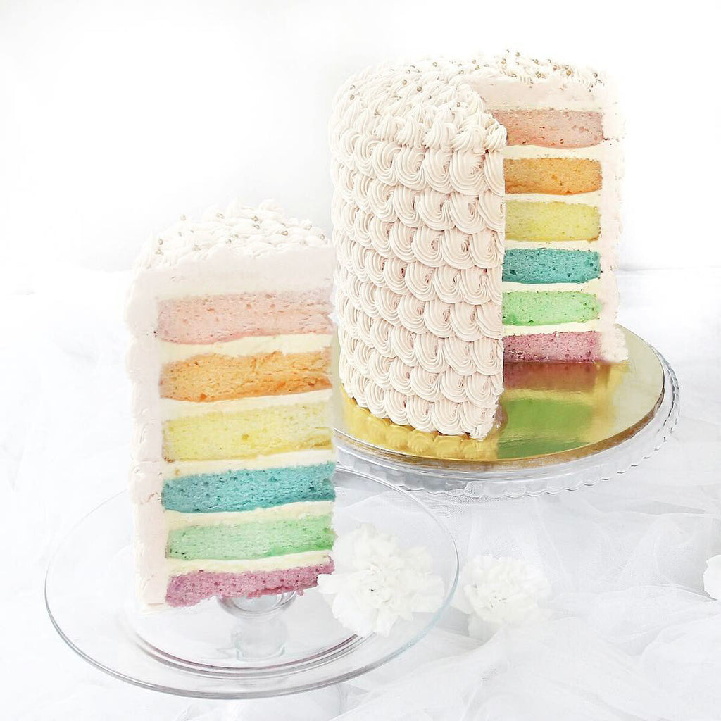 Solid White Cake
