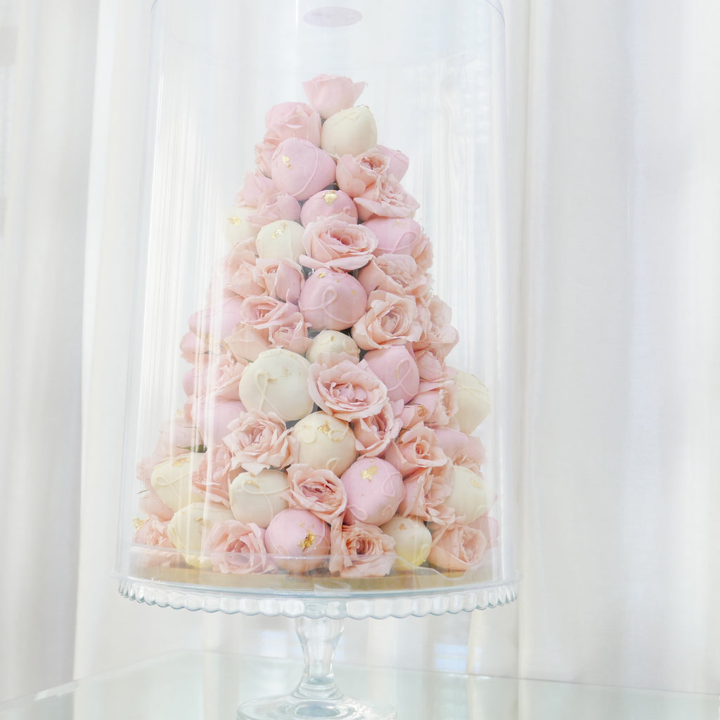 Strawberry & Rose Tower