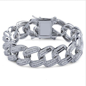 Iced FAT Cuban Link Bracelet