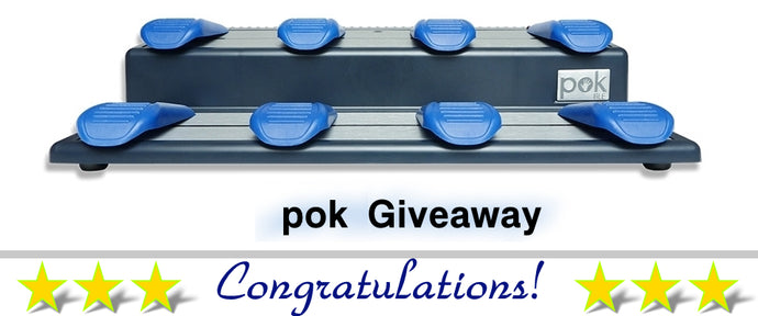 Our November pok Sweepstakes Winner