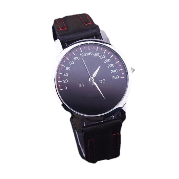 The Gauge Men's Dress Watch (Analog, Black Face)