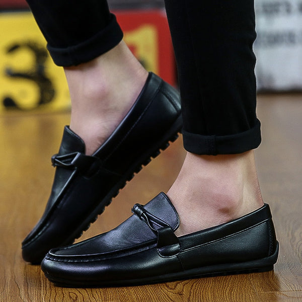 Loafers Solid Driving Shoe
