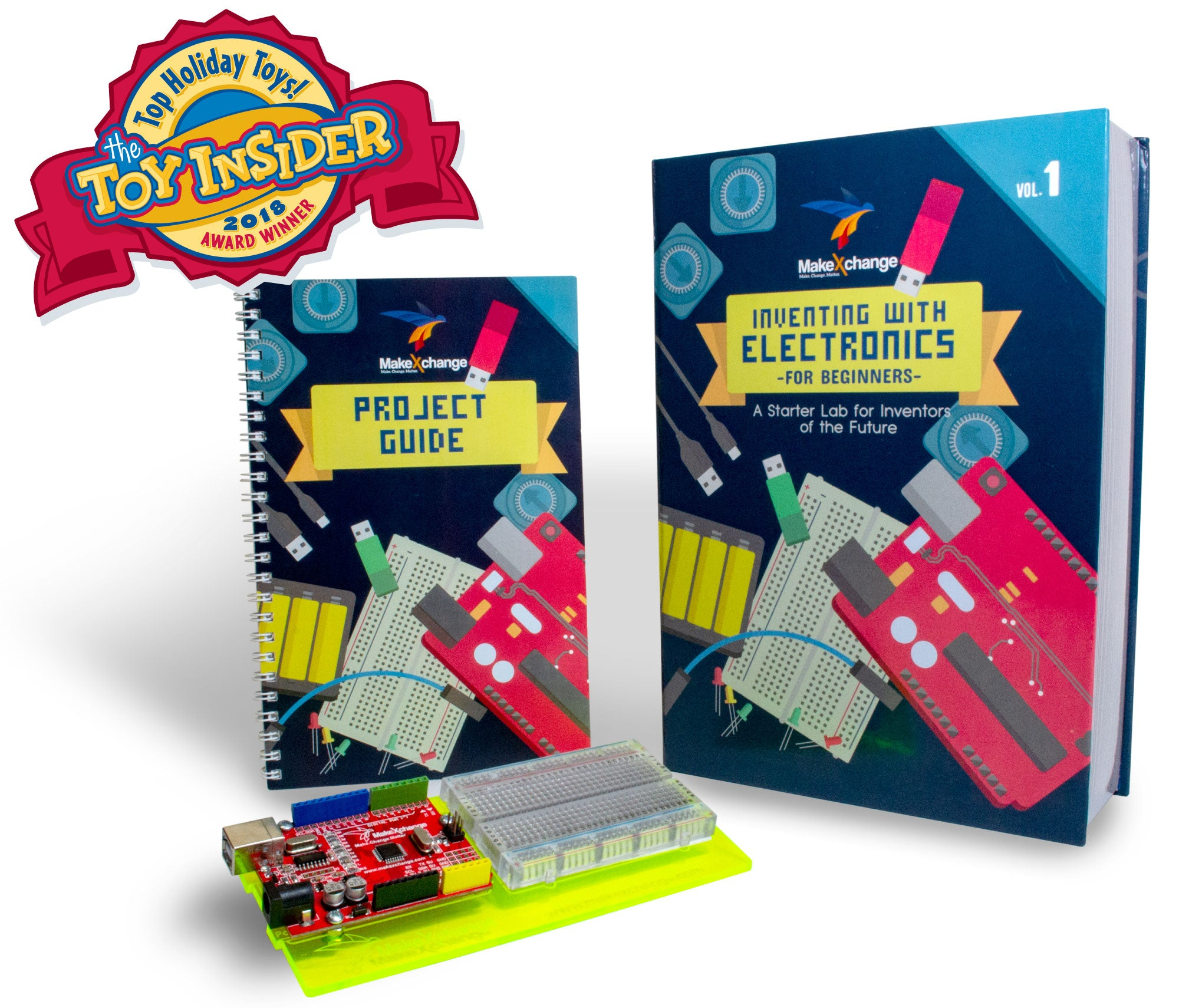 Inventing With Electronics For Beginners Volume 1 Makexchange Working Forum Circuits Projects And Microcontrollers