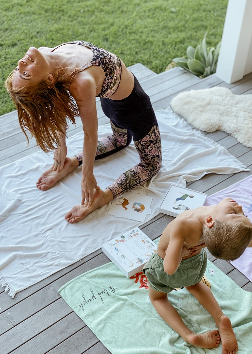 Kids Yoga Flash Cards
