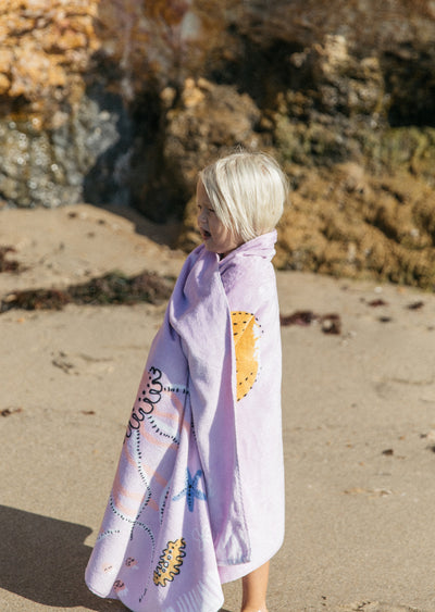 Sirene Kids Beach Towel