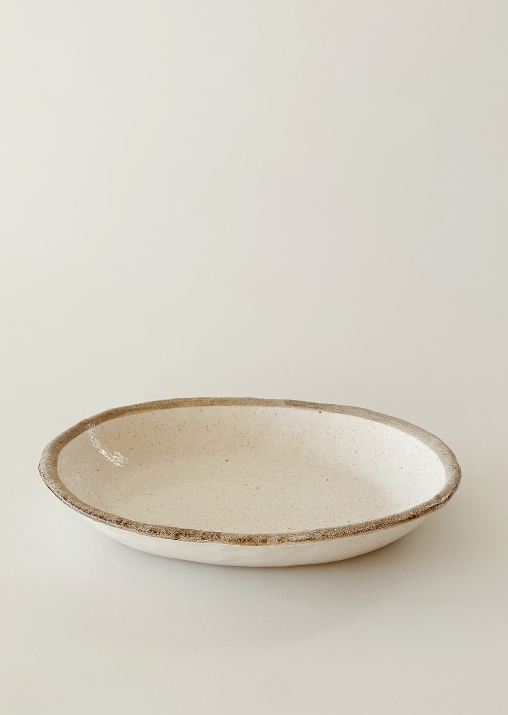 Shirokaratsu Ceramic Serving Dish