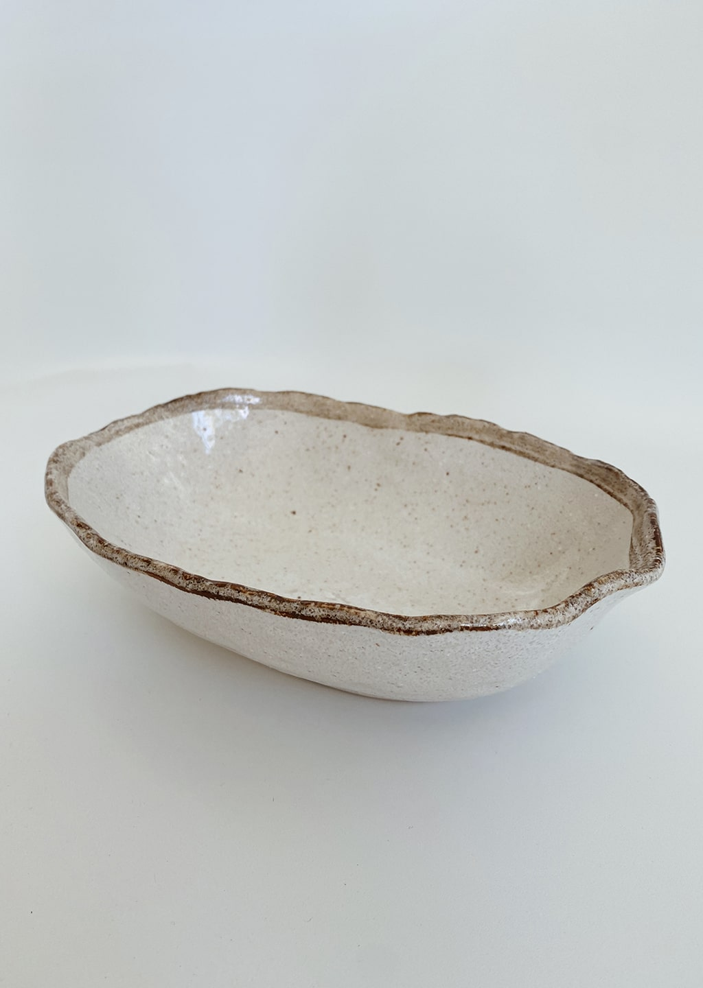 Shirokaratsu Oval Bowl