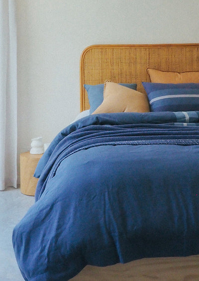 Upcycled Denim Duvet