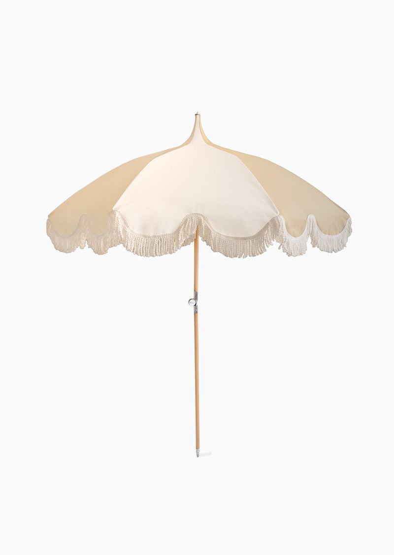 Umbrella - Cream & White