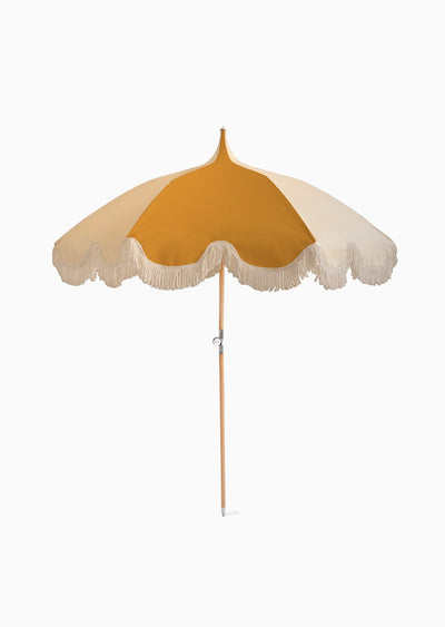 Umbrella - Mustard & Cream