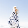 The Nautical Petite Poncho - Kids Beach Poncho