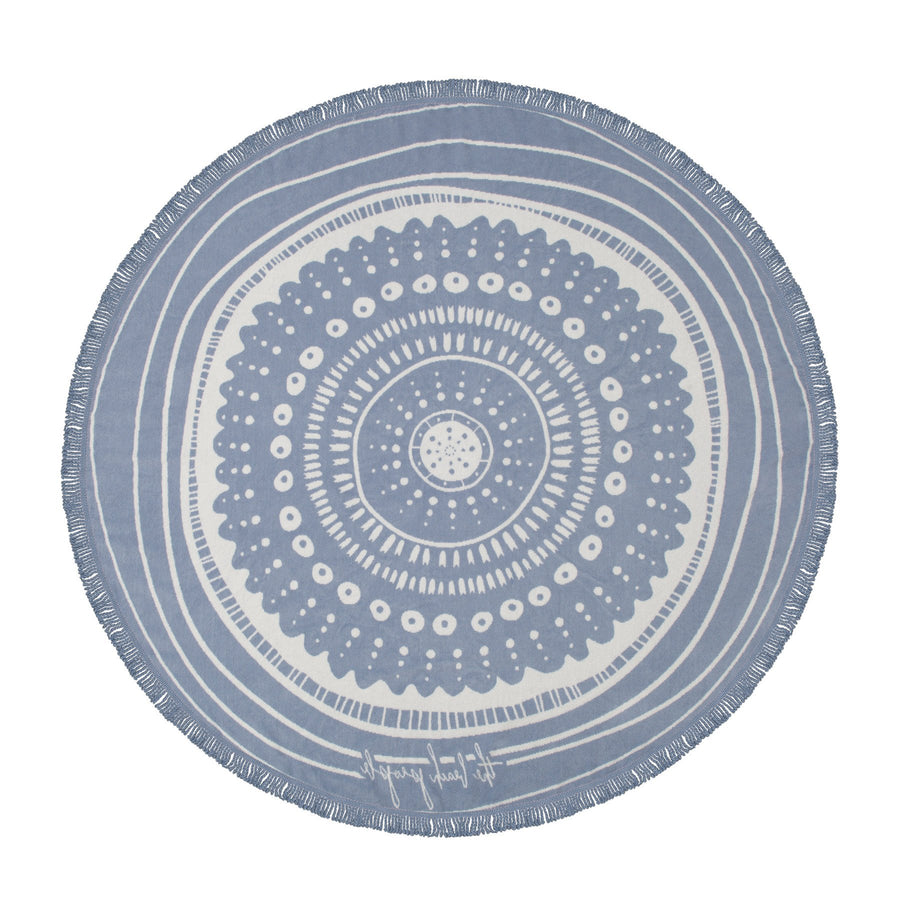 The Waters - The Beach People - creators of the Round Beach Towel