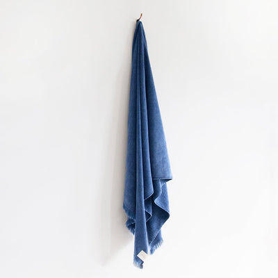 Indigo Stonewash Bath Sheet, The Beach People