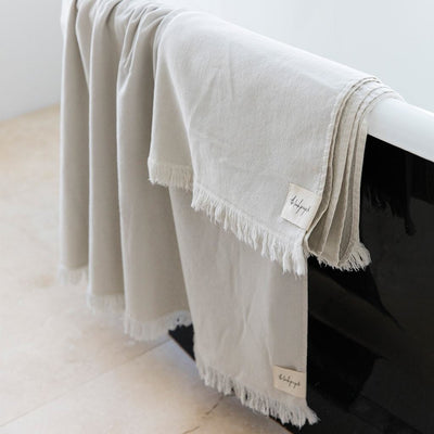 Clay Stonewash Bath Towel - The Beach People