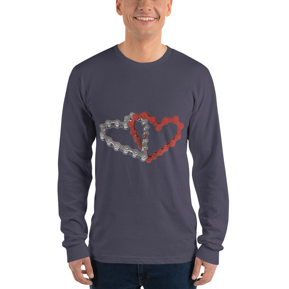 Chained Hearts Long sleeve t-shirt - MyBuggy