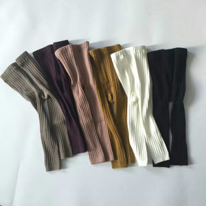 Ribbed Footless Leggings (More colours available)