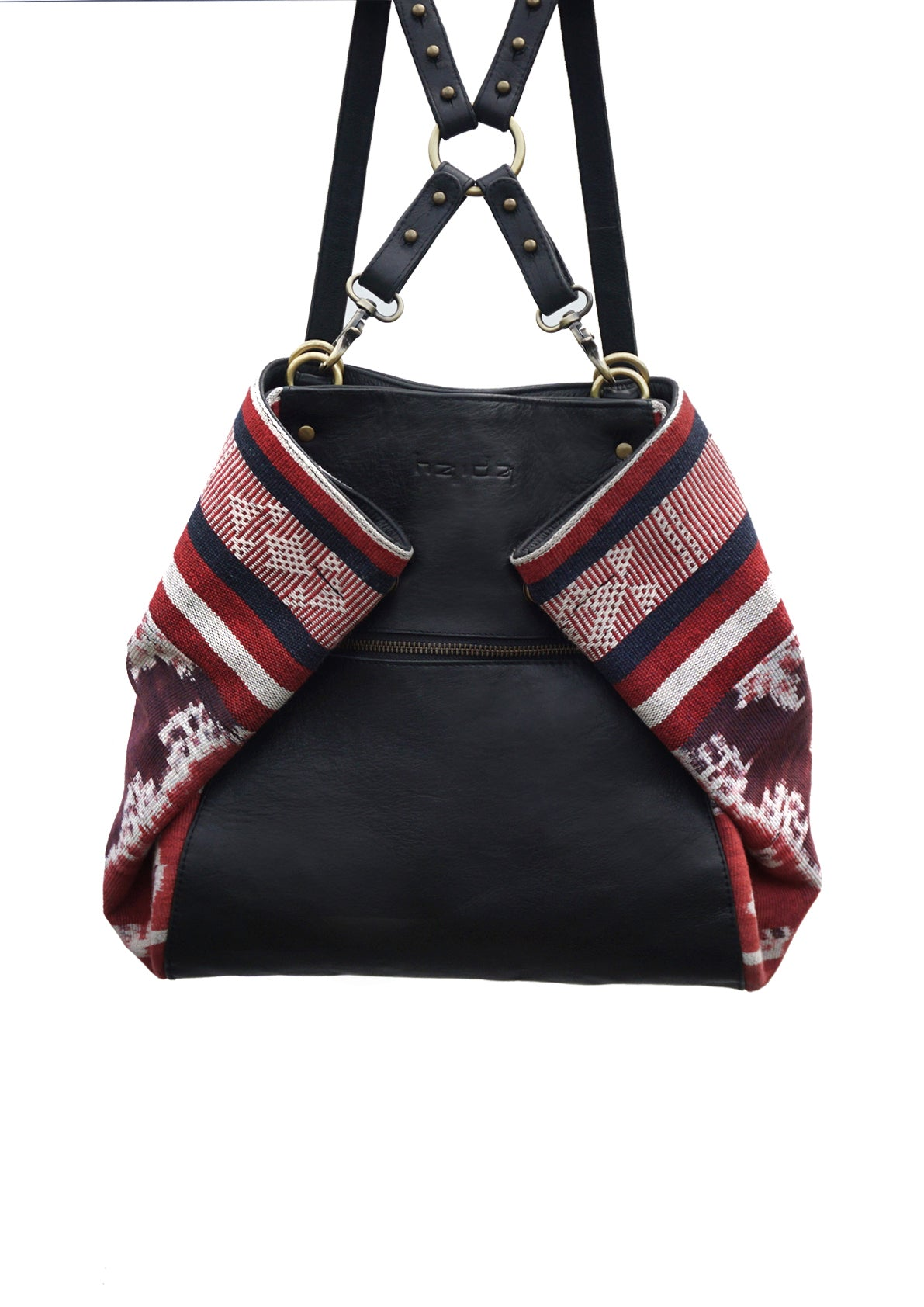 Charlie The Versatile Backpack reversible Tote of Haida Co. the Ethical Fashion Brand