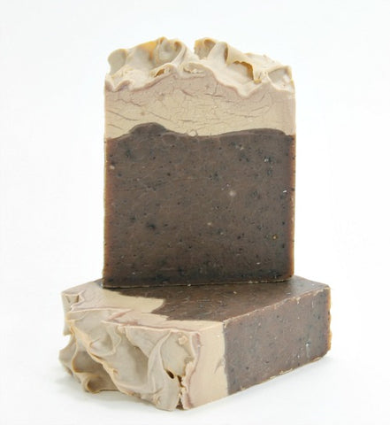 Stout Exfoliating Beer Soap - Chocolate Orange Mint