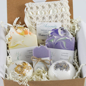 Lavender Romance Deluxe Gift Box