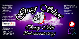 30ml Grog Shot Concentrate - Berry Mix