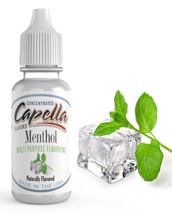 30ml Capella Concentrate - Menthol