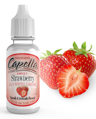30ml Capella Concentrate - Sweet Strawberry