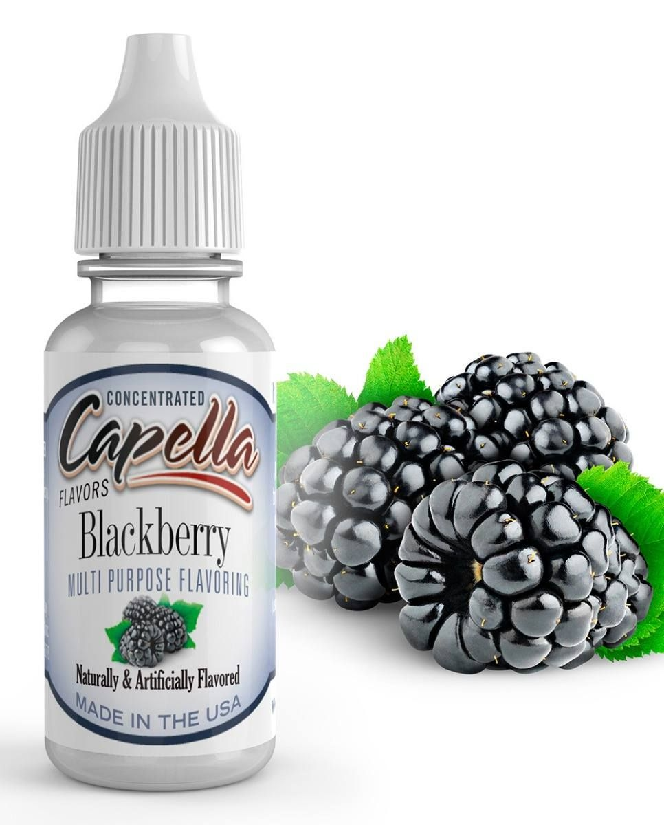 30ml Capella Concentrate - Blackberry