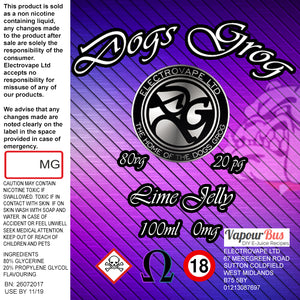 Dogs Grog - Lime Jelly