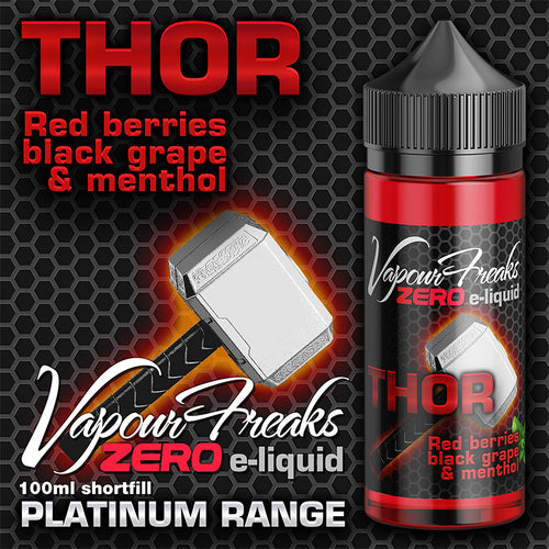 Vapour Freaks - Thor 100ml Shortfill