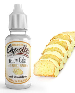 30ml Capella Concentrate - Yellow Cake
