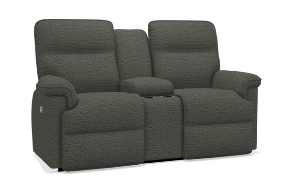 La-Z-Boy Jay Power Reclining Loveseat With Console and Headtilt