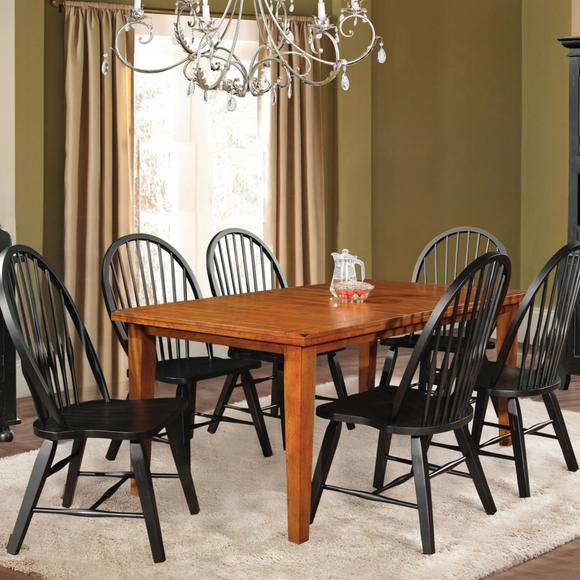 St Michael Dining Collection Black & Wood