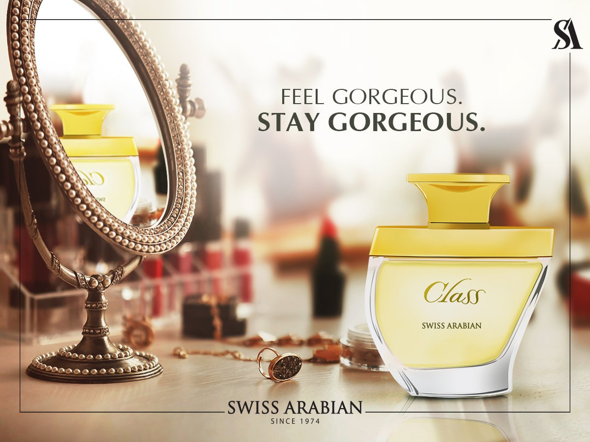 Class, an Eau De Parfum for Women highlighted by stand-out notes of Orange Blossom